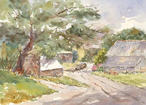 John A. Case - Signed Contemporary Watercolour, Bodrugan Barton