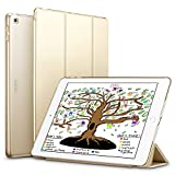 ESR iPad 9.7 2018/2017 Case, Lightweight Smart Case Trifold Stand with Auto Sleep/Wake Function, Microfiber Lining, Hard Back Cover for the Apple iPad 9.7 iPad 5th/6th Generation,Champagne Gold