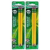 My First Ticonderoga Sharpened 4 Pencils Latex Free Oversized Back to School Preschool Kindergarten Homeschool Handwriting Practice Children Classroom