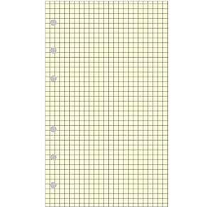 Exacompta 28211 - Recambio para cuaderno Exatime 21 (40 hojas cuadriculadas)
