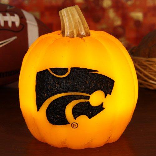 - Football Fanatics NCAA Kansas State Wildcats Wax Pumpkin Luminary