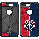 NBA Washington Wizards OtterBox Defender iPhone 7 Plus Skin - Washington Wizards Canvas Split