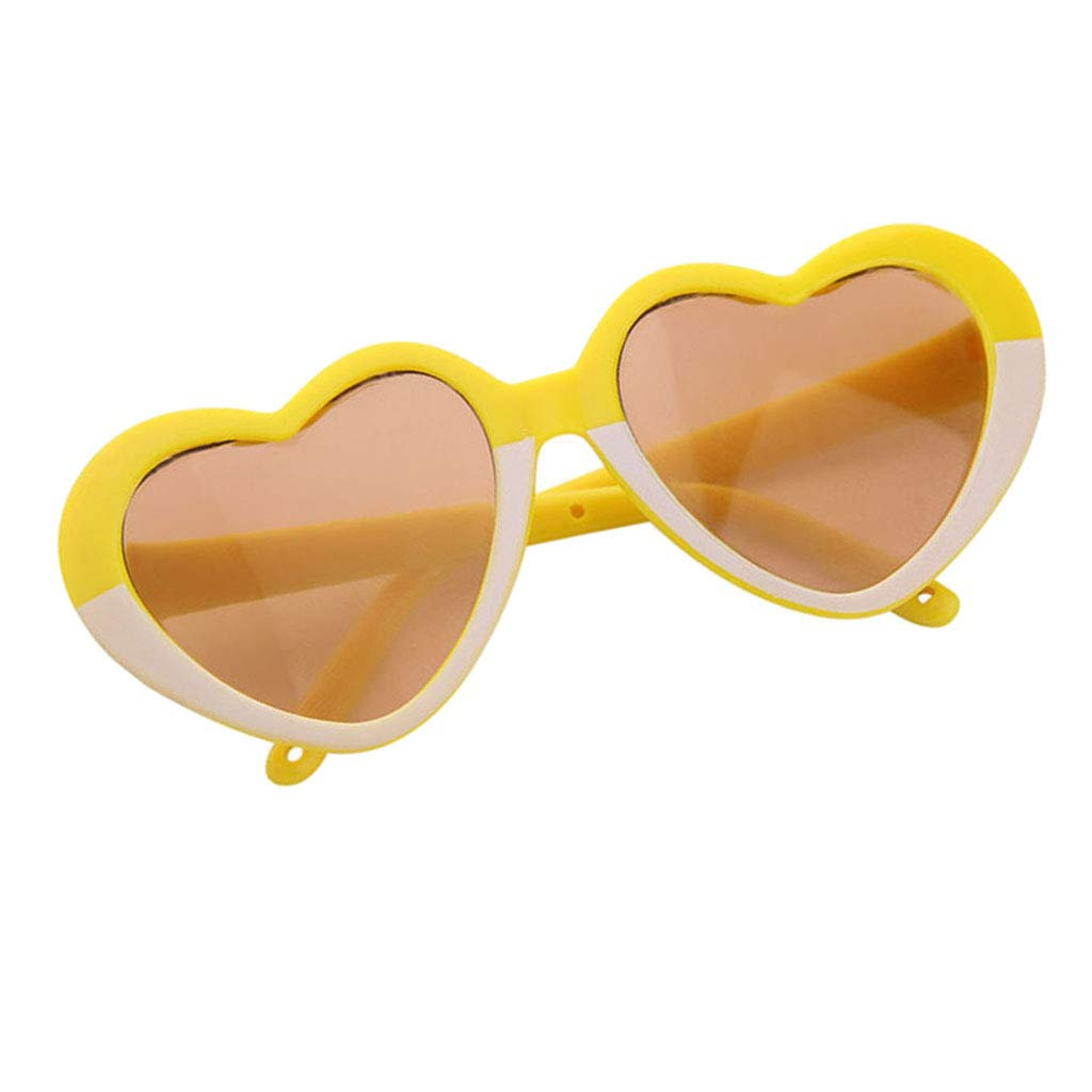 18inch American Doll Accessory Stylish Sunglasses Heart Shape Frame Glasses