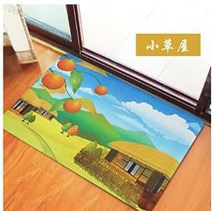 Preciosa caba a en el campo de la alfombra antideslizante - Alfombras dormitorio amazon ...