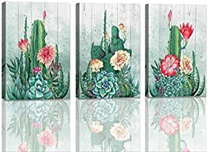 Sweepstakes: Cactus Decor Wall Art For Bedroom Modern...