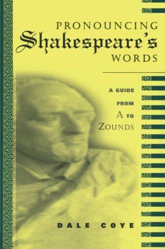 Pronouncing Shakespeare's Words ebook
