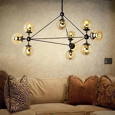 LightInTheBox Pendant Lights , 10 Light , Simple Modern Artistic MS-86526, Modern Home Ceiling Light Fixture Flush Mount, Pendant Light Chandeliers Lighting, Voltage=110-120V
