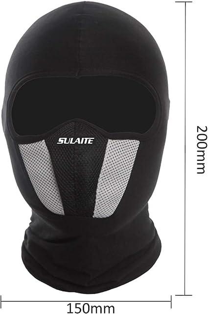 TOMSHOO Máscara Algodón a Prueba de Viento Máscara de Cuello Completo Máscaras Ninja Sombrero Sombrero Equitación Senderismo Deportes al Aire Libre Máscaras de Ciclismo (Gris): Amazon.es: Deportes y aire libre