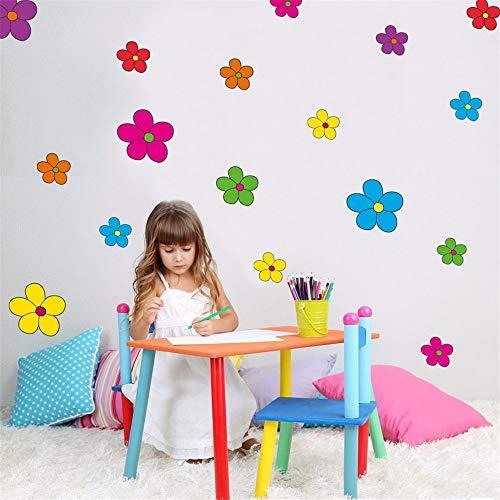 Dtcrzj Confetti Polka Dot Girl Children's Room Living Room Decoration PVC Wall Sticker DIY Mural Applique 85Cm X30Cm