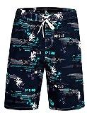 Best Shorts For Men - APTRO Men's Swim Shorts Palm Tree Trunks Swimwear Review