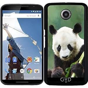 Funda para Motorola Nexus 6 - Panda Pintura Tardará Hui by Gatterwe