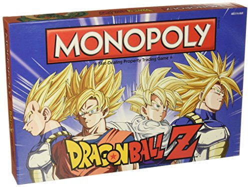 Expert choice for dragon ball z monopoly board game