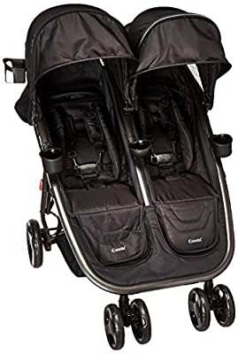 Combi Lightweight Double Unique Travel System Full Size Twin Umbrella Stroller Compatible with the Shuttle Infant Seat – Compact Fold N Go by Combi that we recomend personally.