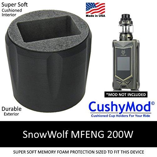 SnowWolf MFENG 200W CUP HOLDER by CushyMod cover wrap skin sleeve case car mod vape kit