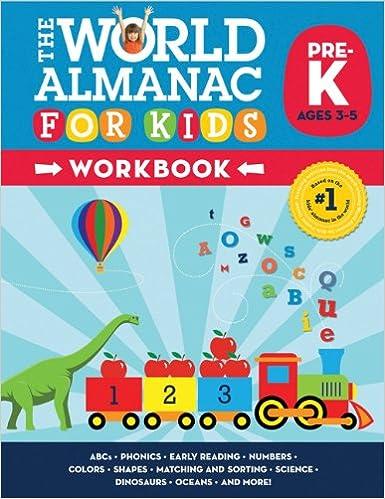 Amazon.com: World Almanac for Kids Workbook: Pre-Kindergarten ...