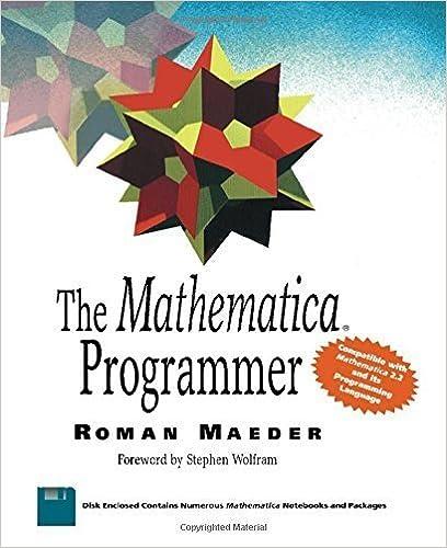 The Mathematica Programmer by Roman E. Maeder (1994-01-03)