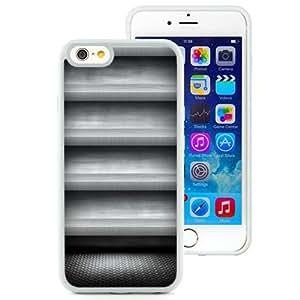 NEW Fashion Custom Designed Cover Case For iPhone 6 4.7 Inch TPU Greyish Shelf White Phone Case
