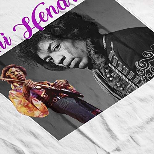 White White White Jimi Tribute Tribute Tribute Hooded Sweatshirt Montage Hendrix Coto7 Women's Fqd0qO