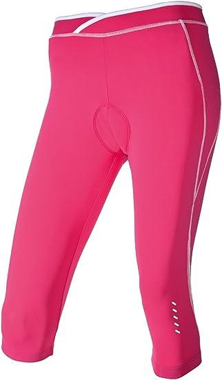 Crivit Damen Fahrradhose//Radlerhose Pink