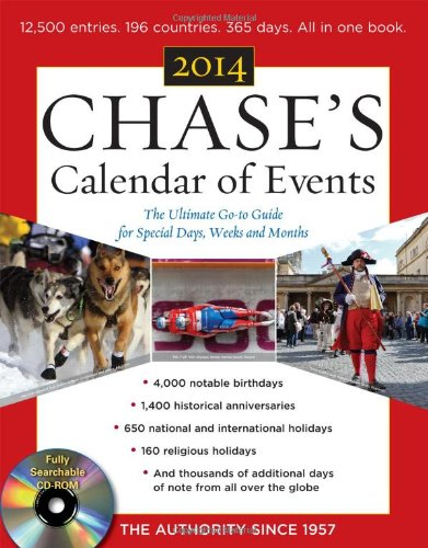 Chase's Calendar of Events 2014 with CD-ROM