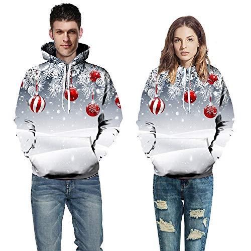 Longues Imprim c Chaud Manches Couple Automne Femme l Tops Sweatshirt Hiver de Homme Solike Outwear Blouse Costume Pull Manteau Chemise 3D Capuche Multicolore No Sweats 5qOS77