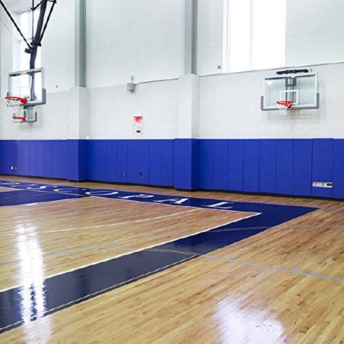 Greatmats Gym Wall Pad 2x6 Ft WB LipTB ASTMF2440-04 (Royal