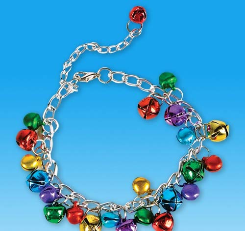 DollarItemDirect Holiday Bracelet with Bells, Case of 360
