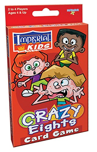 PlayMonster Imperial Kids Card Game - Crazy Eights