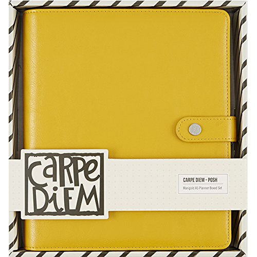 Carpe Diem Set Marigold Posh A5 Planner Boxed St