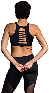 product image for Onzie Yoga Strappy Racer Bra 3025 Black