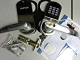 HAIFUAN Right Hand Electronic Keyless Code Door Lock,Unlock With Code, Mifare Cards, And Mechanical Key ONLENCE