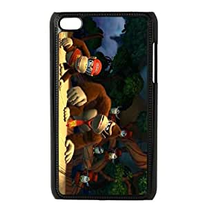 iPod Touch 4 Case Black Donkey Kong Country Tropical Freeze SUX_961161