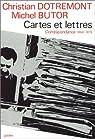 Cartes et lettres par Butor