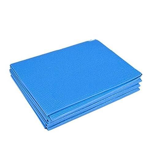 XUMI Yoga Mat, 173cm PVC Plegable Yoga Mat Fino ...