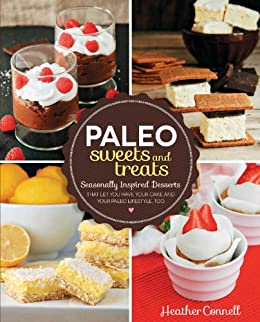 Paleo Sweets Treats Seasonally Lifestyle ebook product image