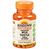 Sundown Milk Thistle Capsules 60 ea (PACK OF 3)