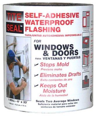 Cofair Products TS633 Flashing, Window & Door, Self-Adhesive, Waterproof, 6-In. x 33-Ft. - Quantity 12 by Cofair