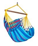 LA SIESTA Sonrisa Wild Berry – Weather-Resistant Basic Hammock Chair