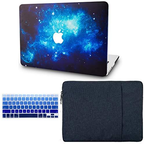 2 Plastic Carrying Case - KECC Laptop Case for MacBook Air 13