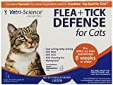 Vetri-Science 3-Dose Flea and Tick Defense for Cats