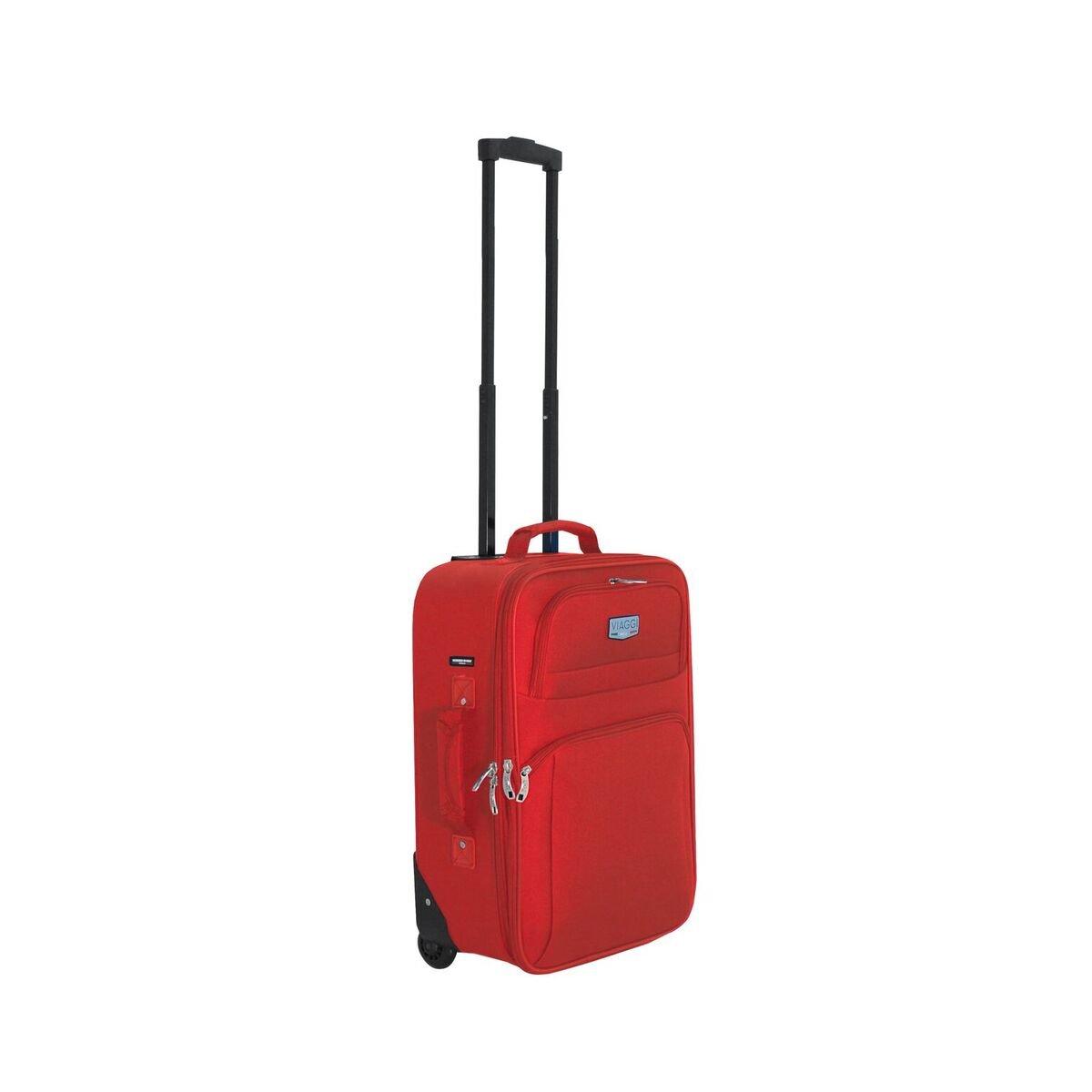 Viaggi 機内持ち込み手荷物, バーガンディー, One Size B0791RY5ZS バーガンディー