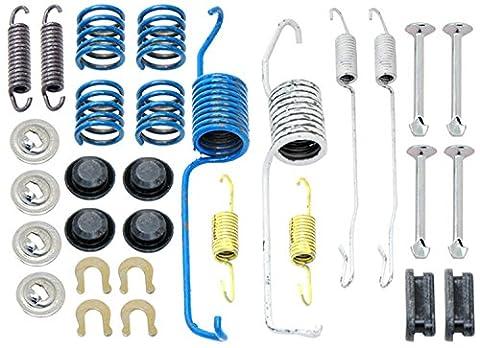ACDelco 18K1134 Professional Rear Drum Brake Shoe Adjuster and Return Spring Kit - Rear Brake Return Spring