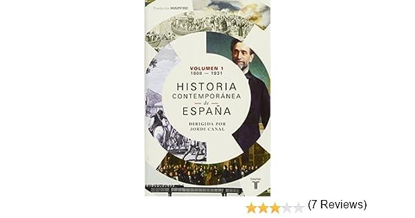 Historia contemporánea de España Volumen I: 1808-1931: Amazon.es ...