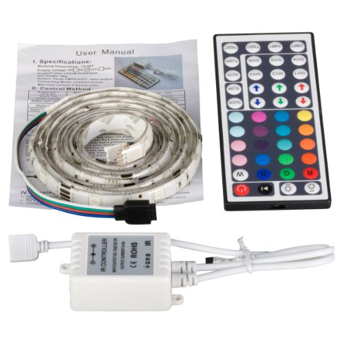 XCSOURCE 2M 5050 SMD RGB Strip Light + Remote Control LD084 - 1