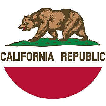 California State Flag 3x5 - 100% Made In USA using Tough, Long Lasting Nylon Built for Outdoor Use, UV Protected, Authentic Design, Superior Locked Stitches on Sides & Quadruple Stitching on Fly End