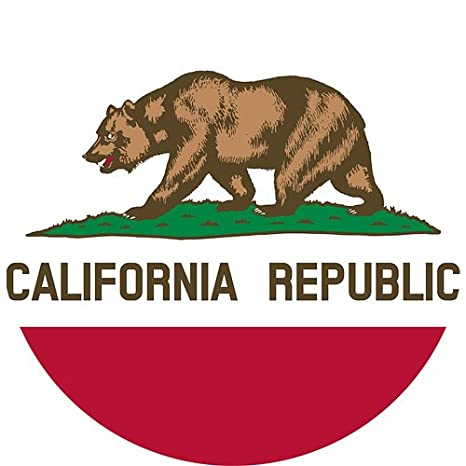 03749fddf51 California Flag State Bear NCR Cali - Official California State Flag