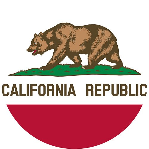 (California State Flag 3x5-100% Made In USA using Tough, Long Lasting Nylon Built for Outdoor Use, UV Protected, Authentic Design, Superior Locked Stitches on Sides & Quadruple Stitching on Fly End)