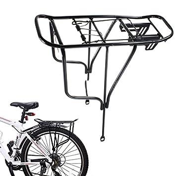 2 Tipo De Ciclo De La Bicicleta Pannier Aleación Parrilla De ...