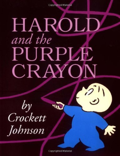 Download Harold and the Purple Crayon 50th Anniversary Edition (Purple Crayon Books) by Johnson, Crockett (1st (first) Edition) [Paperback(1998)] pdf epub