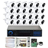 GW Security 32 Channel DVR Outdoor / Indoor Security Camera System with (24) x 900TVL Wide Angle 3.6mm Lens Bullet Cameras (Sales Only for Thanksgiving Holiday) Review